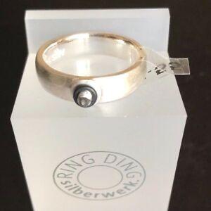 Original RingDing Silberwerk Basis-Ring ca. 5,5 mm Gr. 50 925er Sterlingsilber