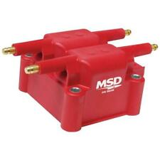MSD Ignition Coil 8239; Red 36,000 Volts Coil Pack HEI (Male)