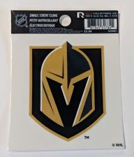 "Las Vegas Golden Knights 3"" x 4"" Small Static Cling - Truck Car Window Decal NEW"