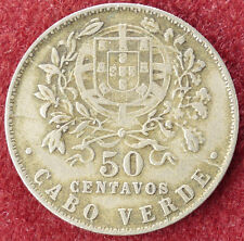 Cape Verde 50 Centavos 1930 (D3004)