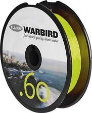 WARBIRD SHOCK LEADER 50lb YELLOW LINE BEACHCASTER & MULTIPLIER REELS AND RIGS