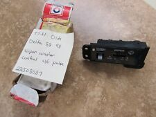 OE GM 1977-81 Olds Delta 88 98 Wiper Washer Control wo/pulse OEM# 22508087
