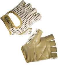 Leather Crotchet Cycling Glove Biking Bike Gloves Cycle