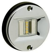 """LED Marine Transom Waterproof Stainless 3"""" 3 inch Round anchor STERN LIGHT 02381"""