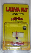 Northland Tackle Tungsten Larva Fly Ice Jigs (#12 Pink Rainbow)