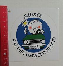 Aufkleber/Sticker: Degussa Katalysatoren (040117118)