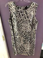 Women's Worthington Black White & Grey Dress size XL