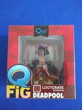 New Loot Crate Exclusive Marvel Q-Fig DEADPOOL Vinyl Figure QMX