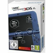 Console New Nintendo 3DS XL Bleue Métallique NEUVE