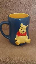 Disney Store Exclusive WINNIE THE POOH 3D Embossed Coffee Mug FAST & FREE