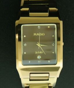 Gents Rado Jubile Watch - Swiss Movement - Scratchproof Band & Sapphire Crystal