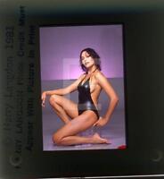 230S Sexy BARBARA CARRERA 1981 Harry Langdon 35mm Transparency w/rights