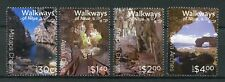 NIUE 2017 MNH Walkways of Niue 4v Set Caves Chasms Tourism Landscapes Stamps