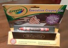 CRAYOLA new RED CRAYON PEN 2006 Executive office rare SEALED