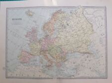 1800-1899 Date Range Antique Europe Political Maps