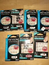7 Revlon Perfect Pedicure 48 ct each Natural Length 2 Kits in 1 Box Fake Nails