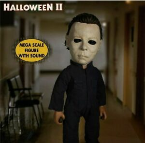 MEZCO Halloween 2 MDSMega Scale Talking Michael Myers, New john Carpenter horror