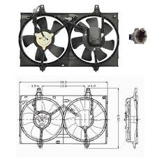 Dual Rad & Cond Fan Assembly Fits: 1995 - 1999 Nissan Maxima V6 3.0L