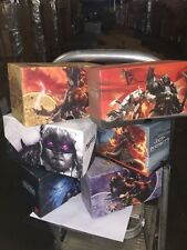 Magic The Gathering Fat Pack Deckbox, EMPTY, Set Of 4, Styles Will Vary.