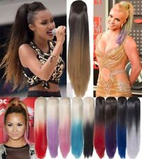 Ponytail Long Straight Hair Extensions