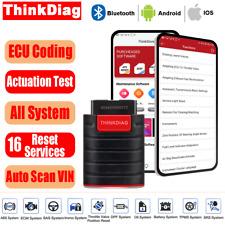 ThinkDiag Car ABS SRS SAS OBD2 Scanner ECU Coding Bidirection Acuation Test Tool