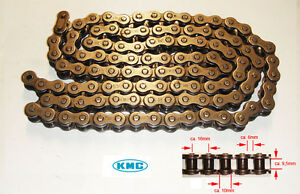 KMC Kette 530 108G mit Kettenschloss Schwarz f. Motocross,Dirt Bike,ATV,Quad