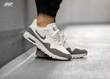 WOMENS NIKE AIR MAX 1 ULTRA MOIRE SHOES 704995-101 SIZE 10 SUMMIT WHITE
