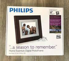 """Philips Home Essentials Digital Photo Frame 8"""" LCD Panel SPF3408T/G7"""