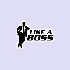 Like A Boss Decal Sticker JDM Drift Vinyl