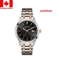 Bulova 98B264 Two Tone Rose Bracelet Mens Watch