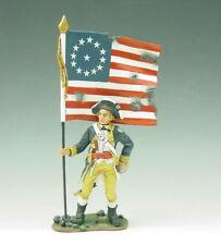 King & Country - AR35 - Standing Flagbearer - En boite d'origine