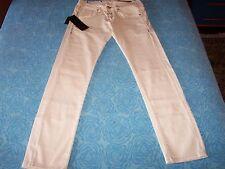 TAKESHY KUROSAWA Jeans uomo slim fit, bianco,taglia 34 Kurosawa man's pants