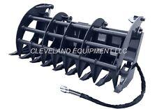 78 Cid Extreme Duty Grapple Rake Attachment Bobcat Kubota Case John Deere Cat