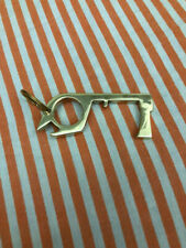 100pcs(Marketing Or Reselling ) Antimicrobial Brass Key No Touch Germ Prevention