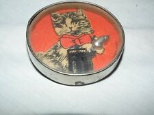 VINTAGE GERMAN DEXTERITY GAME PUZZLE CAT AND MOUSE D.R.G.M.  US ZONE GERMANY