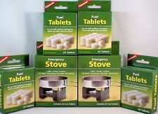2-SURVIVAL EMERGENCY STOVES W/ 144 HEXAMINE ESBIT FUEL TABLETS KEEP WARM COOK #2