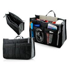 Women Lady Travel Insert Handbag Organiser Purse Large Liner Organizer Tidy Bag Red