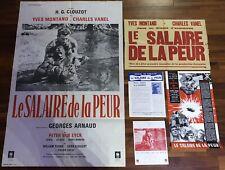 Le Salaire De La Peur / Affiche / Cinema / Poster / Original / Synopsis