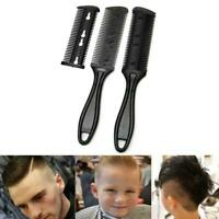3pcs Hair Comb Razor Cutter Cutting Thinning Shaper Grooming Hair Styling Tool