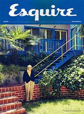 Esquire UK Mens Mag June 2016 Subscriber Edition Tom Hiddleston Christian Slater
