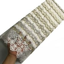 French Tulle Lace Tassels Swiss Voile Lace Fabric African Fabric Wedding Dresses