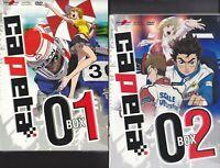 10 Dvd x 2 Box Set Cofanetto CAPETA Box 01 + Box 02 serie completa nuovo