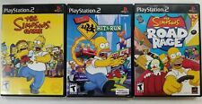 The Simpsons games (Playstation 2) PS2 Tested