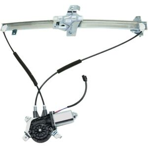 Power Window Regulator For 99-2014 Ford E-350 Super Duty Front Left With Motor