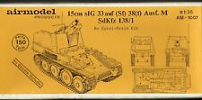AIRMODEL PRODUCTS AM-1007 - 15cm sIG 33 auf (Sf) 38(t) Ausf.M - 1/35 RESIN KIT