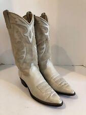 Women's Dan Post Beige Western Cowboy Boots Size 8 M