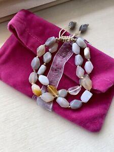 Lola Rose Montana Agate Double Row Bracelet