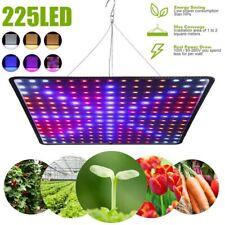 More details for 225led grow light hydroponic full spectrum indoor veg flower plant lamp panel