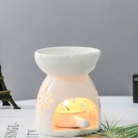 Keramik ätherische Öle Lampe Aroma Brenner Aromatherapie Kerze Duft H  BLY