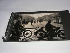ancien DDR Photo avec Randonnées Awo et Simson SR2